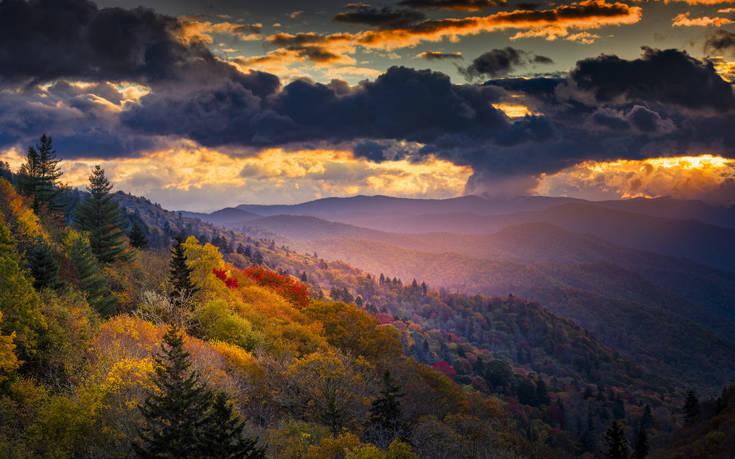 Το μεγαλείο της φύσης ξεδιπλώνεται στη γη των Ινδιάνων Cherokee