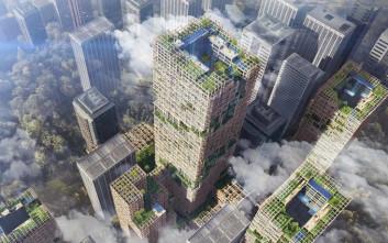 Ο ψηλότερος ξύλινος ουρανοξύστης θα χτιστεί στην Ιαπωνία!