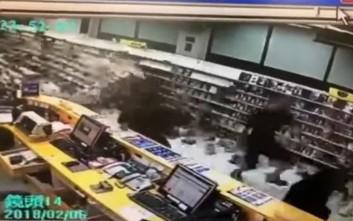 Βίντεο με τη στιγμή του σεισμού στην Ταϊβάν