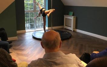 Γηροκομείο οργάνωσε επίδειξη pole dancing για τους ηλικιωμένους