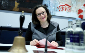 Πιθανότατα αύριο θα οριστεί προσωρινή αρχηγός του SPD η Αντρέα Νάλες