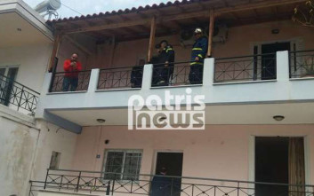 Νεκρός 63χρονος άνδρας από πυρκαγιά σε διαμέρισμα στον Πύργο