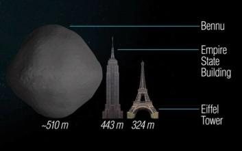 Αστεροειδής στο μέγεθος του Empire State ενδέχεται να μη μπορεί να αναχαιτιστεί