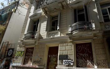 Ανακατάληψη πραγματοποιήθηκε σε κτίριο στην οδό Ζαΐμη στα Εξάρχεια