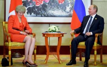 Οι όροι της Τερέζα Μέι στον Πούτιν για εξομάλυνση των σχέσεων Λονδίνου-Μόσχας