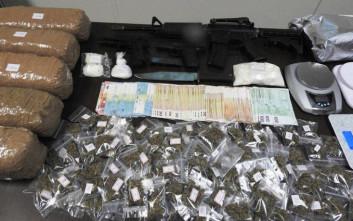 Εξαρθρώθηκε κύκλωμα διακίνησης ναρκωτικών με ορμητήριο τα Εξάρχεια