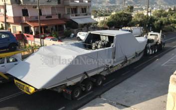 Ατύχημα με στρατιωτικό σκάφος των Αμερικανών από τη βάση της Σούδας