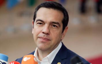 Τσίπρας: Έχω μεγάλες προσδοκίες από τη συνάντηση με τον Ζάεφ