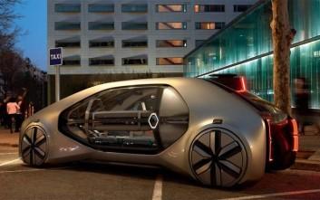Το αυτόνομο ταξί Renault EZ-GO