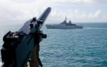 Η «Αριάδνη» του Πολεμικού Ναυτικού… «όργωσε» το Ιόνιο πέλαγος