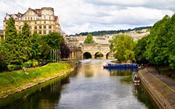 Η δημοφιλής λουτρόπολη της Αγγλίας