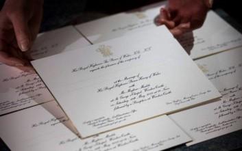 Χάρι και Μέγκαν έστειλαν τα προσκλητήρια του γάμου τους