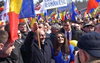 Μεγάλη διαδήλωση υπέρ της ένωσης με τη Ρουμανία στη Μολδαβία
