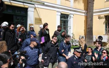 Στο Αυτόφωρο οι συλληφθέντες για τα χθεσινά επεισόδια για τους πλειστηριασμούς