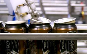 Πώς γεμίζει και σφραγίζει ένα κουτάκι μπύρας