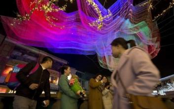 Χωρίς προβλήματα κύλησε το φετινό «Φεστιβάλ της Άνοιξης» στο Πεκίνο