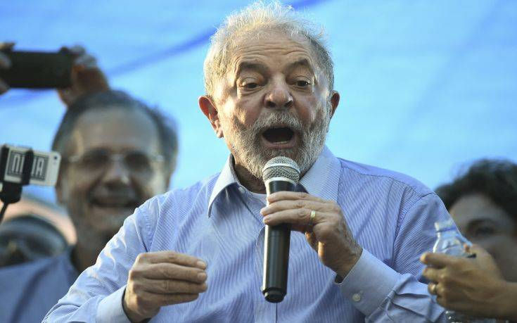 Δικαστής αποφάσισε την παραμονή Λούλα στη φυλακή