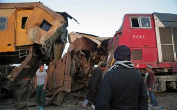 Στους 15 οι νεκροί από την σύκρουση τρένων στην Αίγυπτο