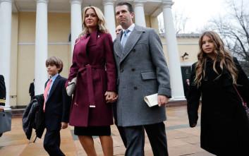 Αίτηση διαζυγίου κατέθεσε η νύφη του Ντόναλντ Τραμπ