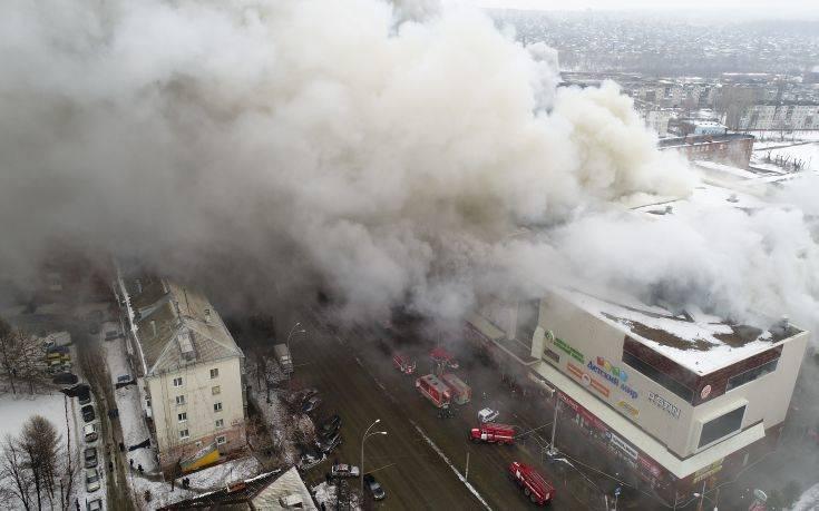 Συνελήφθη στέλεχος του εμπορικού που κάηκε στη Ρωσία
