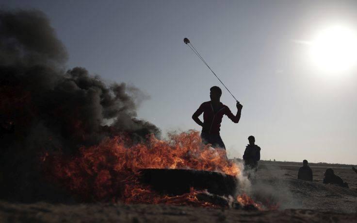 Θέατρο αιματηρών συγκρούσεων και πάλι η Λωρίδα της Γάζας