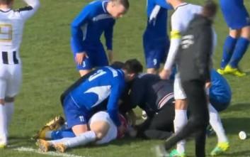Η τραγική στιγμή του θανάτου του ποδοσφαιριστή στην Κροατία