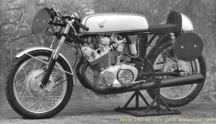 Honda196263CR72250ccproductionrace