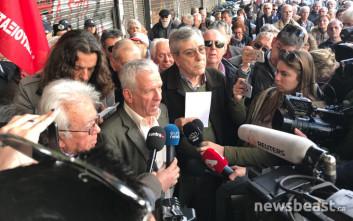 Οι δεσμεύσεις του Πετρόπουλου δεν ικανοποίησαν τους συνταξιούχους