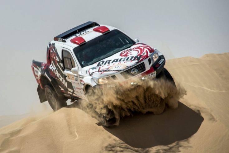 Nissan Dubai International Baja  4