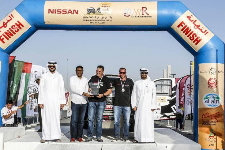 Nissan at Dubai International Baja  Photo 01