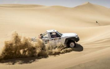 Νίκη της Nissan, στο Dubai International Baja