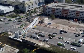 Βίντεο από τη στιγμή της κατάρρευσης της γέφυρας στο Μαϊάμι με 4 νεκρούς