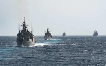 Με «ορμή» και «αστραπή» ο στόλος στο Αιγαίο