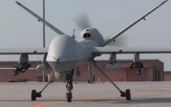 Πλήρως εξοπλισμένα drone των ΗΠΑ στην Λάρισα