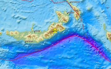 Σεισμός στην Παπούα Νέα Γουινέα