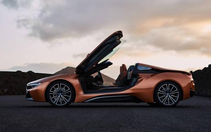 Στη Λειψία ξεκινά η παραγωγή του BMW i8 Roadster