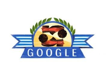 Η Εθνική Επέτειος της 25ης Μαρτίου στο Doodle της Google