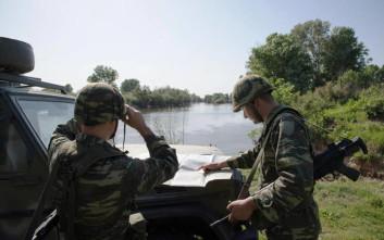 Εξετάζεται η αύξηση των περιπόλων στον Έβρο μετά τη σύλληψη των δυο στρατιωτικών