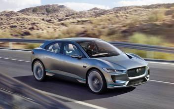 Η πρώτη αμιγώς ηλεκτρική Jaguar
