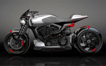 Μια μοτοσικλέτα με την υπογραφή του Κιάνου Ριβς