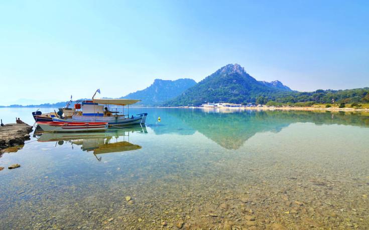 Η «άγνωστη» λίμνη Βουλιαγμένη