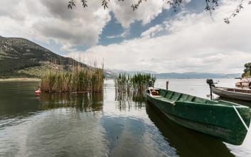 Ατμοσφαιρικά «κλικ» στη λίμνη των Ιωαννίνων