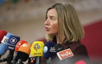 Μογκερίνι: Ανησυχούμε για τη συνεχιζόμενη κράτηση Ευρωπαίων πολιτών στην Τουρκία