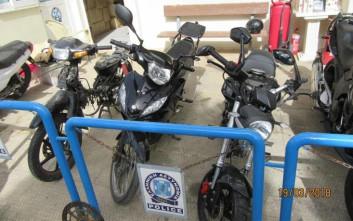 Πολυμελής σπείρα έκλεβε μοτοσικλέτες από περιοχές της Αττικής