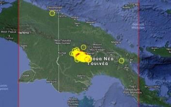 Σεισμός 6 βαθμών έπληξε την Παπούα Νέα Γουινέα