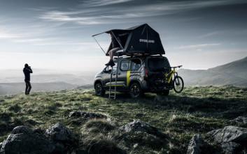 Το Peugeot Rifter 4X4 Concept είναι ο κυνηγός της περιπέτειας