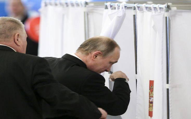 Πούτιν: Δεκτό οποιοδήποτε αποτέλεσμα αρκεί να είμαι εγώ Πρόεδρος