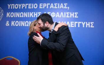 Ο Νάσος Ηλιόπουλος πήρε τη σκυτάλη από τη Ράνια Αντωνόπουλου