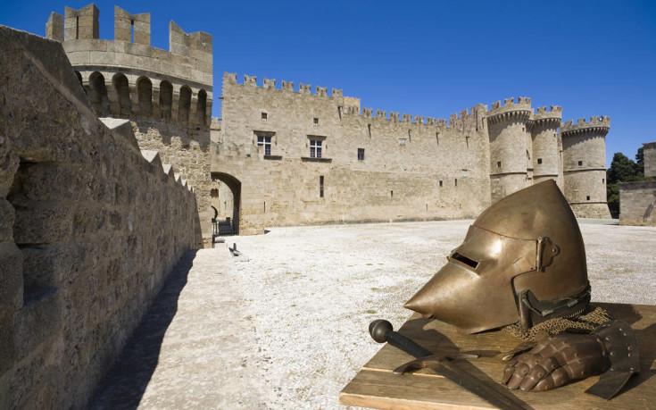 Ταξίδι στην εποχή των Ιπποτών στο Καστέλο της Ρόδου