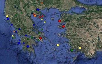 Μικρός σεισμός τώρα έγινε αισθητός στην Αθήνα